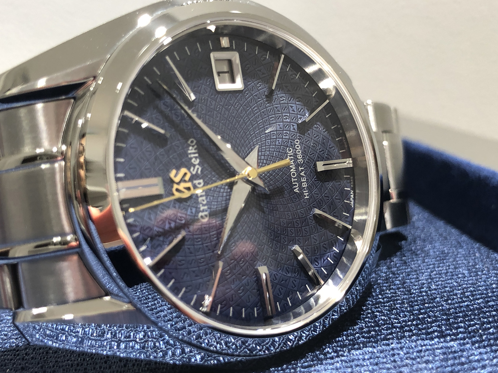 detailed pictures a8bff 1386e GRAND SEIKO(グランドセイコー) | アイアイイスズ